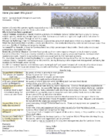 Invasive Phragmites Landowners Tax Notice Example